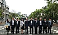 河北省政府官員與中大代表合照