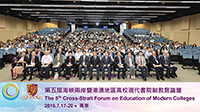 The 5th Cross-Straite Forum on Education of Modern Colleges