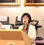 Prof. Fanny Cheung, Pro-Vice-Chancellor of CUHK, delivers opening speech