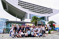 參加者遊覽太平山頂(學生大使李子軒同學提供)