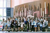 參加者訪問香港立法會(學生大使李子軒同學提供)