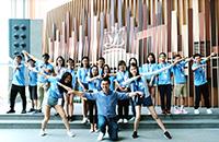 Participants pose for a group photo with Mr. Ho Kai-ming, Legislative Councillor
