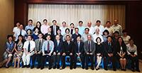 香港中文大學—復旦大學合作指導委員會第四次會議參會代表合照留念