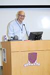 中大物理學系教授及研討會籌備委員會主席劉仁保教授在研討會開幕典禮上致詞