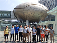 Participants of the Symposium visits Hong Kong Science and Technology Parks Corporation after all presentations