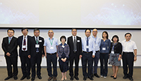 Group photo of Officiating Guests, members of Academic Advisory Committee and Organizing Committee and Keynote Speakers