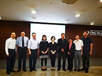 世界公益慈善論壇學術委員會代表合照