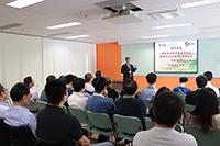 國家自然科學基金委員會港澳台辦副主任王文澤先生蒞校主講中國聯繫講座
