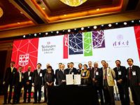 來自全球35所知名研究大學代表在論壇上簽署共同發展宣言,推動大學校園可持續發展