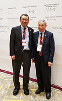 Professor Rocky S. TUAN, Vice-Chancellor and President (Left) and Professor CHAN Wai-yee, Pro-Vice-Chancellor and Vice-President of CUHK attend the inauguration ceremony