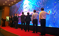 The launch ceremony of the Guangdong-Hong Kong-Macau University Online Open Course Alliance