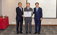 "The Shanghai-Hong Kong Joint Laboratory in Chemical Synthesis was ranked as ""Outstanding"" in the Assessment of the Hong Kong-CAS Joint Laboratories 2018"