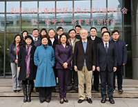 Representatives of member institutions under the Cross-Strait Green University Consortium pose for a group photo at Zhejiang University campus