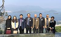 CAS Academician Delegation tours CUHK campus