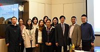 CAS Academician Prof. Tan Weihong meets with staff and students of Department of Biomedical Engineering