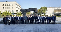 Representatives of CUHK and Development and Reform Commission of Shenzhen Municipality pose  a group photo