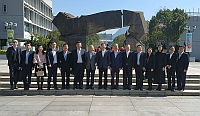 Group photo of representatives of CUHK and Guangzhou Municipal Development and Reform Commission