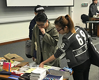 Students obtain programme information at the Information Session