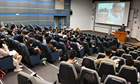 Over a hundred students attend the Information Session of CU in Mainland & Taiwan 2019