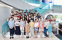 Participants visit Tencent in Shenzhen (Photo Credit: Feng Zhou, Central China University of Technology)