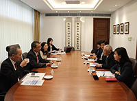 Meeting of representatives from CUHK and University System of Taiwan