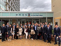 Participants of the Tsinghua University Executive Programme on Higher Education Management 2019 take a group photo