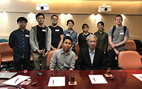 Prof. Tsai Ming-Daw shares insights and experience with students from School of Life Sciences