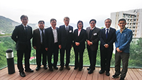 AS Academicians meets with Prof. Isabella Poon (fourth from right), Pro-Vice-Chancellor of CUHK