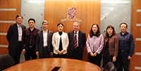 Group photo of Delegates from Guangzhou Development District and CUHK's representatives