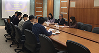 Representatives of Guangzhou Development District visit CUHK for discussions on potential collaboration