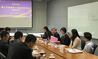 Delegation of Nanhai District of Foshan visits CUHK for science and technology exchange in the Greater Bay Area
