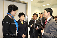 Delegates from Shandong University visit the CUHK-SDU Joint Laboratory on Reproductive Genetics