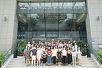 Participants of the Research Placement Programme visit various local firms and research institutes in Shenzhen