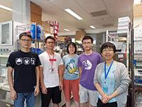Meeting my nice professor and fellow students in SBS (Photo Credit: Mr Li Jiangchuan, Nankai University)