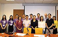 Participating in seminars and discussions (Photo Credit: Miss Huang Jinghui, Sun Yat-sen University)