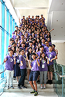 Students from around 30 mainland universities gather for the Summer Cultural Camp
