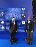中大工程學院院長黃定發教授及機械與自動化工程學系教授劉雲輝教授參與活動
