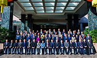 A group photo of all representatives at the 14th meeting of Mainland and Hong Kong Science and Technology Co-operation Committee