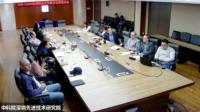 中國科學院深圳先進技術研究院代表參與會議的現場情況