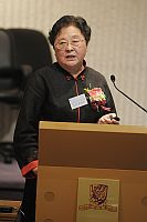 """Prof. Wang Enduo, Principal Investigator, Institute of Biochemistry and Cell Biology, Shanghai Institutes for Biological Sciences, Chinese Academy of Sciences talks about """"Aminoacylation of Disease-Related Mutants of Mitochondrial tRNALeu(UUR) and (CUN)"""" in the """"Lecture Series by Academicians"""""""