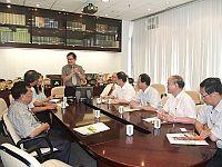 福建中醫學院代表團與香港中文大學中醫學院代表會晤