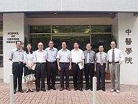 福建中醫學院代表團到訪香港中文大學中醫學院