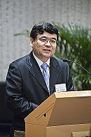 中國科學院數學與系統科學研究院院長、研究員郭雷院士