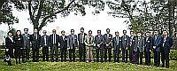 中國科學院院士代表團與中大代表合照