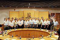 University Presidents of the 6th Cross-Straits Meeting for University Presidents visits CUHK