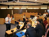 The delegation meets with Prof. Jack Cheng, Pro-Vice-Chancellor to learn about recent development of CUHK