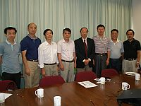CUHK warmly welcomes the delegation from National University of Defense Technology