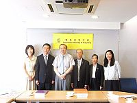 RIMG0325.JPG	Prof. Jack Cheng (3rd from left), Pro-Vice-Chancellor of CUHK welcomes the delegation from Northeast Normal University.