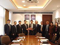 中大代表歡迎中國工程院臨校訪問