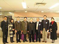 代表團到訪李嘉誠健康科學研究所